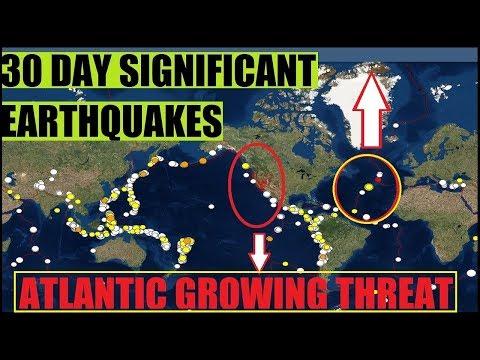 *ATLANTIC OCEAN* MAJOR EARTHQUAKE & SEISMIC ACTIVITY - East Coast Risk As Big As WEST?!