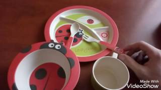 Обзор детской посудки