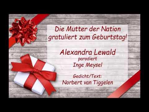 Alles Gute zum Geburtstag (Inge Meysel- Parodie)