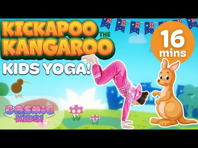 Kickapoo The Kangaroo A Cosmic Kids Yoga Adventure Youtube