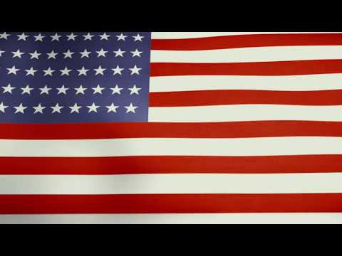 USA Flag - God Bless The USA - USA Anthem