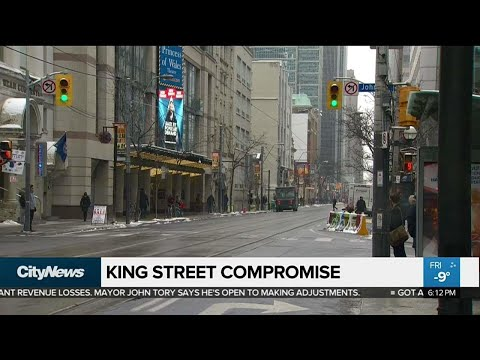 Mayor Tory meets with King Street business owners