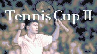 Tennis Cup II gameplay (PC Game, 1992)