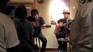 2010/10/8に町田万象房で行われたIWAO&わたなべゆうのジョイントライブ...