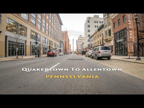 Quakertown To Allentown, Pennsylvania, USA