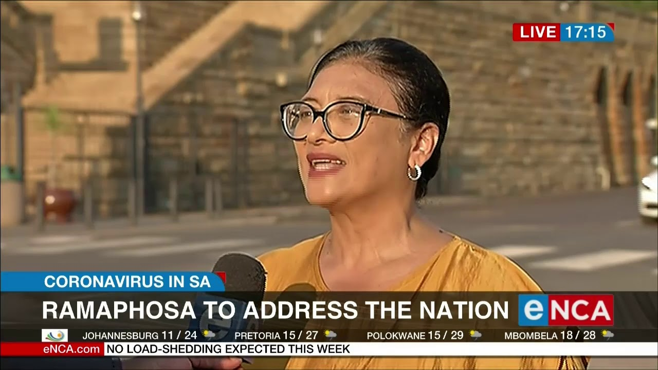 President to address nation | Covid -19 - eNCA