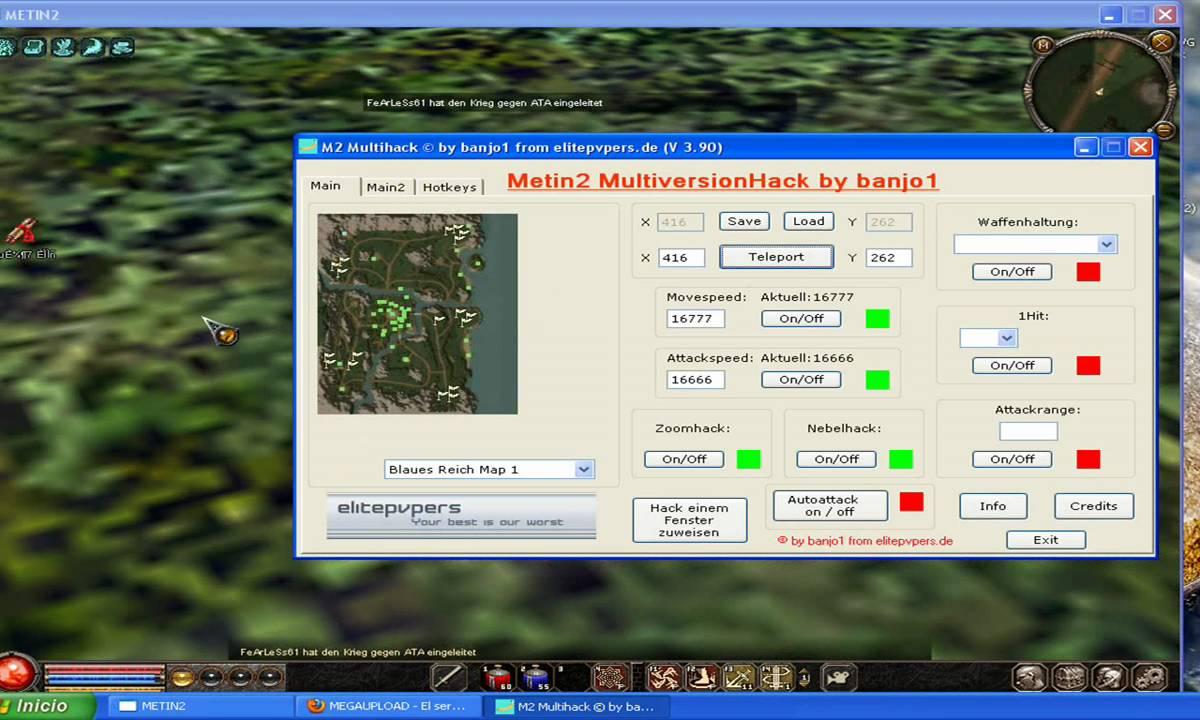 Metin2 Multihack By Banjo + TRADE HACK