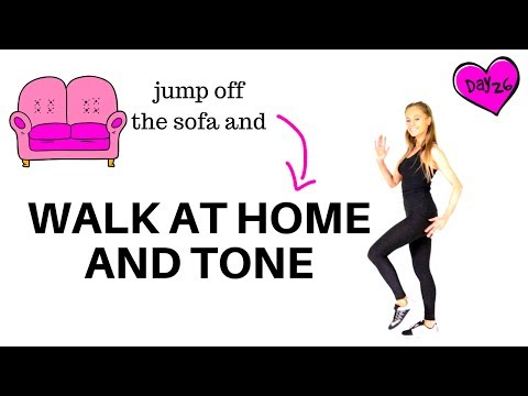 WALKING AT HOME Walking Workout & Full Body Toning Ideal for weight loss and beginners START NOW