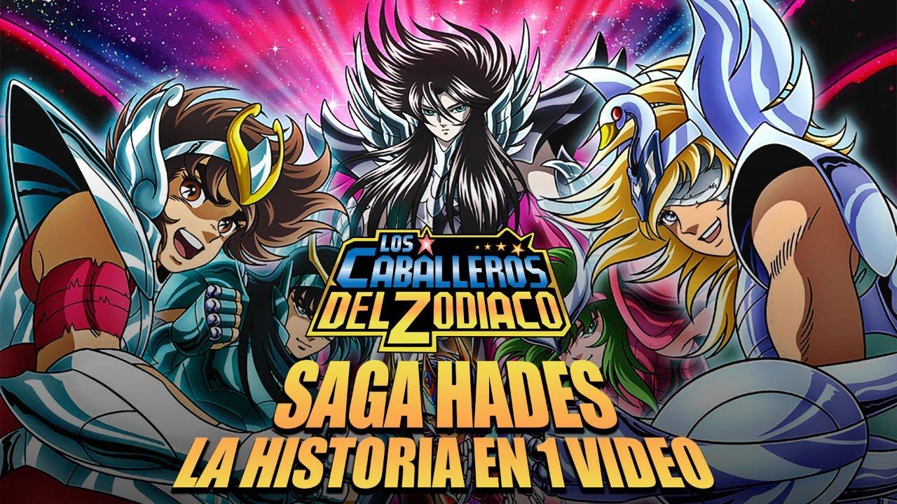 Los Caballeros del Zodiaco La Saga  Hades : La Historia en 1 Video