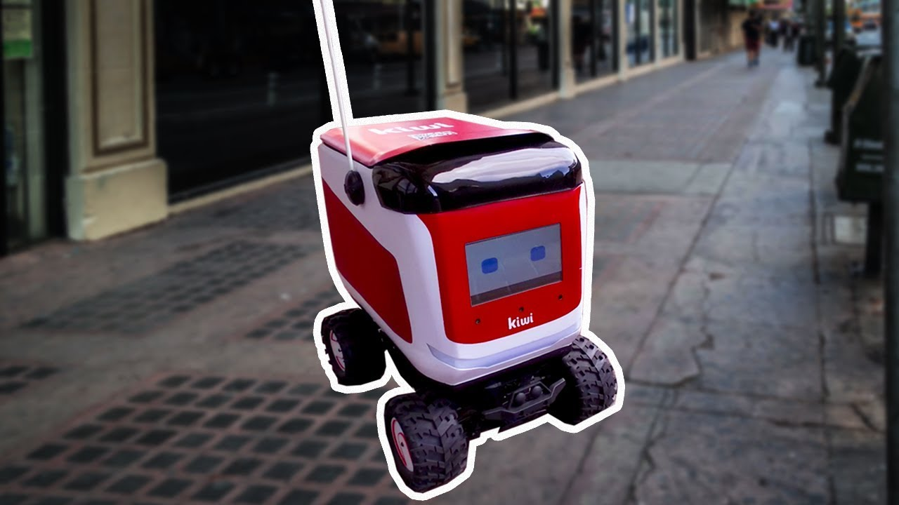 Kiwi's food delivery robots will soon be hitting a sidewalk