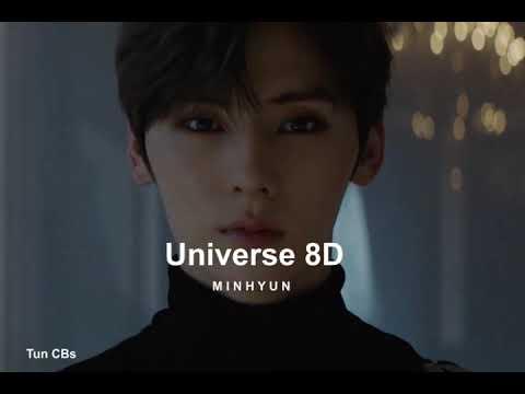 MINHYUN (NU'EST) - Universe (별의 언어) 8D(USE HEADPHONES🎧🎧)