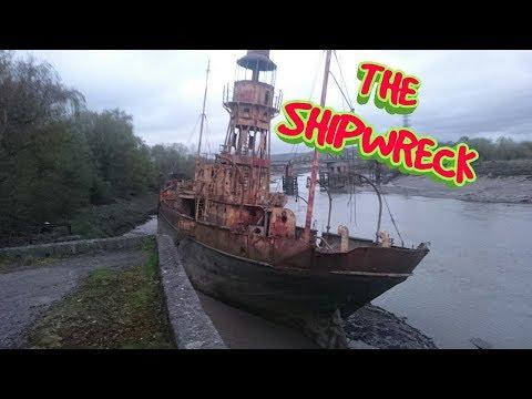 THE SHIPWRECKED WW2  LV72 LIGHTSHIP
