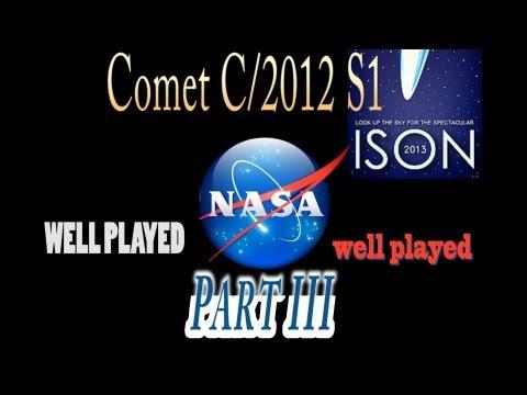 Comet ISON WTF NASA? Pt. 3  Hubble trouble...
