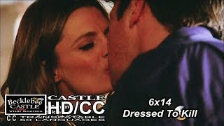 "Castle 6x14 End Scene ""Dressed To Kill"" Castle and Beckett Caskett Kisses & Wedding Plans (HD/CC)"