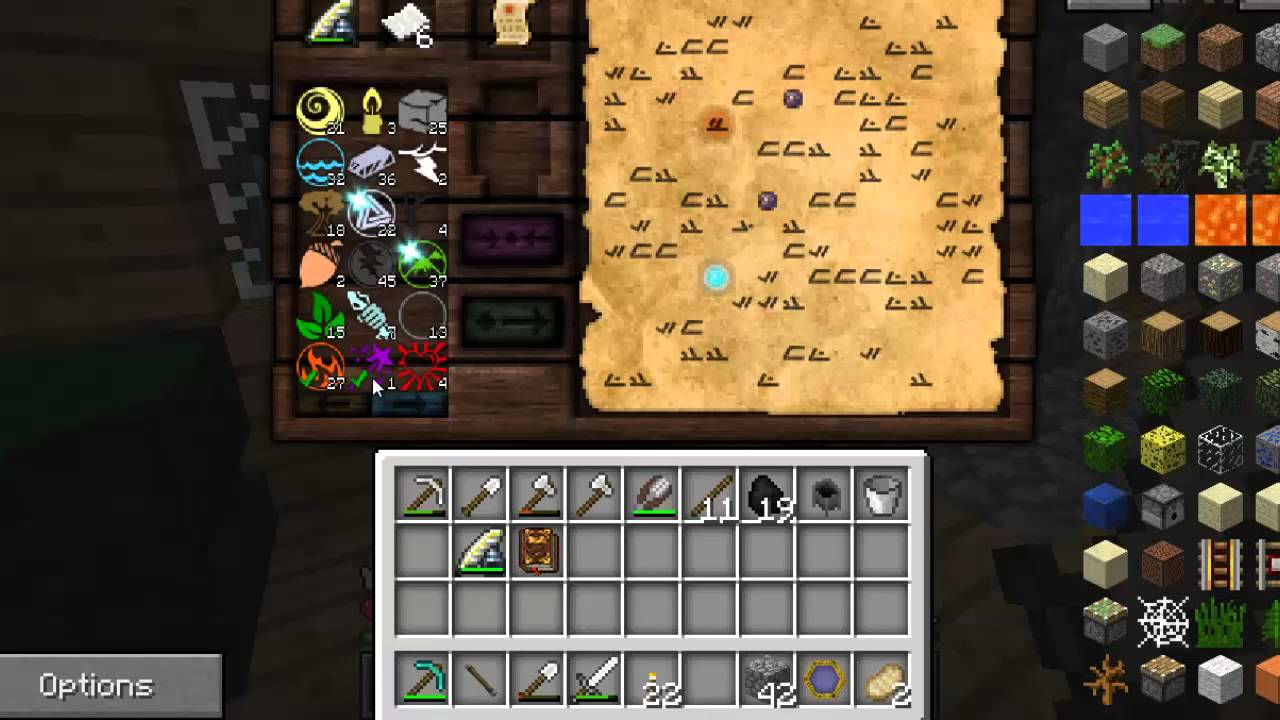 """Modded Minecraft - """"Magic Bear"""" - S2E4 - Wand Foci ..."""