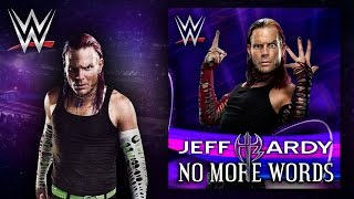 "WWE: ""No More Words"" (Jeff Hardy) Theme Song + AE (Arena Effect)"