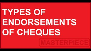types-of-endorsements-of-cheques