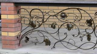 Идеи дизайна веранды, ограждение, перила из кованого металла для веранды частного дома(посмотреть http://kovka-dveri.com/lekarstva30088 ...Идеи дизайна веранды, ограждение, перила из кованого металла для веранды..., 2016-09-10T10:46:19.000Z)