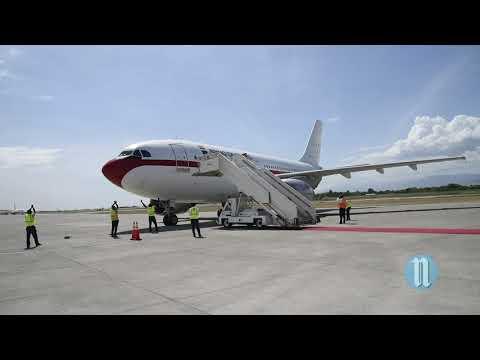 Visite De La Reine  D'Espagne En Haiti