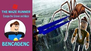 The Maze Runner / Escape the griever and maze / Roblox Adventure
