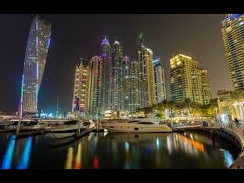 Dubai Marina Walk UAE-Day and Night