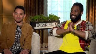 #CivilTV: Anthony Ramos and John David Washington of Monsters and Men