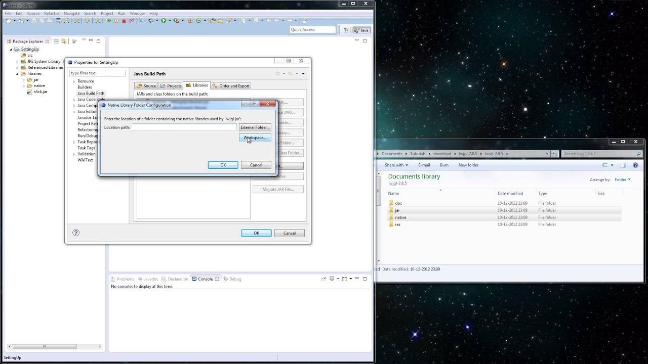 Slick2D Tutorials Game Development in Java