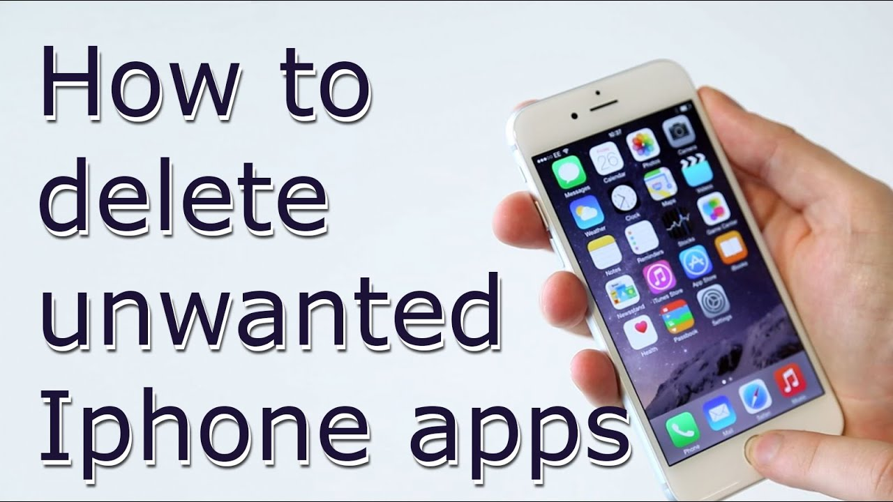 How To Delete Iphone Default Apps