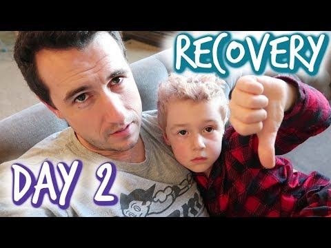 Tonsillectomy Recovery Day 2
