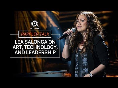 Rappler Talk: Lea Salonga on art, technology and leadership