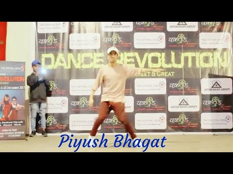 Piyush Bhagat dance on maar dala(hip hop getto version)
