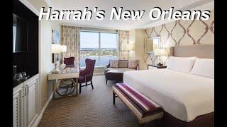 Harrah's New Orleans Hotel & Casino Room Tour