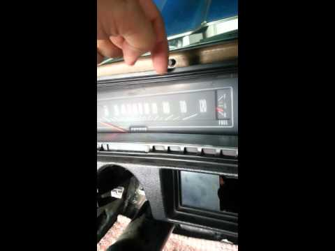 How To Remove Chevelle Sweep Dash For Speedometer Replacement