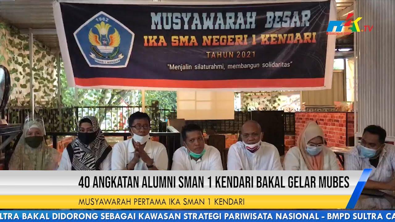 40 Angkatan Alumni SMAN 1 Kendari Bakal Gelar Mubes