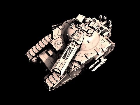 Glaive Super-Heavy Special Weapons Tank: Model and Tactics R