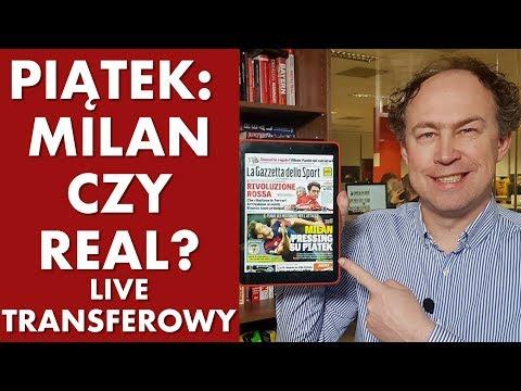 Transfery - Piątek: Milan czy Real? Neymar chce do Barcy! Polsport live