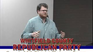 Whitfield County Republican Party Nathan Smith Forum