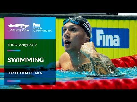Swimming Men - 50m Butterfly   Top Moments   FINA World Championships 2019 - Gwangju