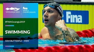 Swimming Men - 50m Butterfly | Top Moments | FINA World Championships 2019 - Gwangju