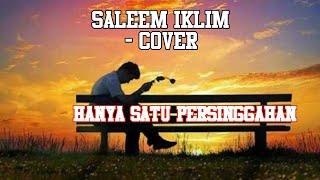 HANYA SATU PERSINGGAHAN SALEEM IKLIM - COVER