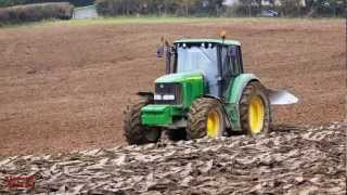 Ploughing at Last!  John Deere 6520 with Kverneland 4.