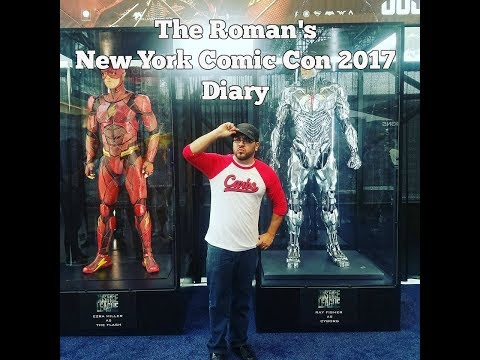 Roman's New York Comic Con 2017 Diary