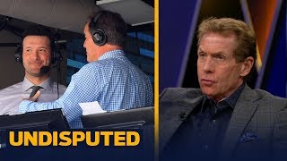 Skip Bayless: Brent Musburger has no reason to criticize Romo's broadcasting style | UNDISPUTED