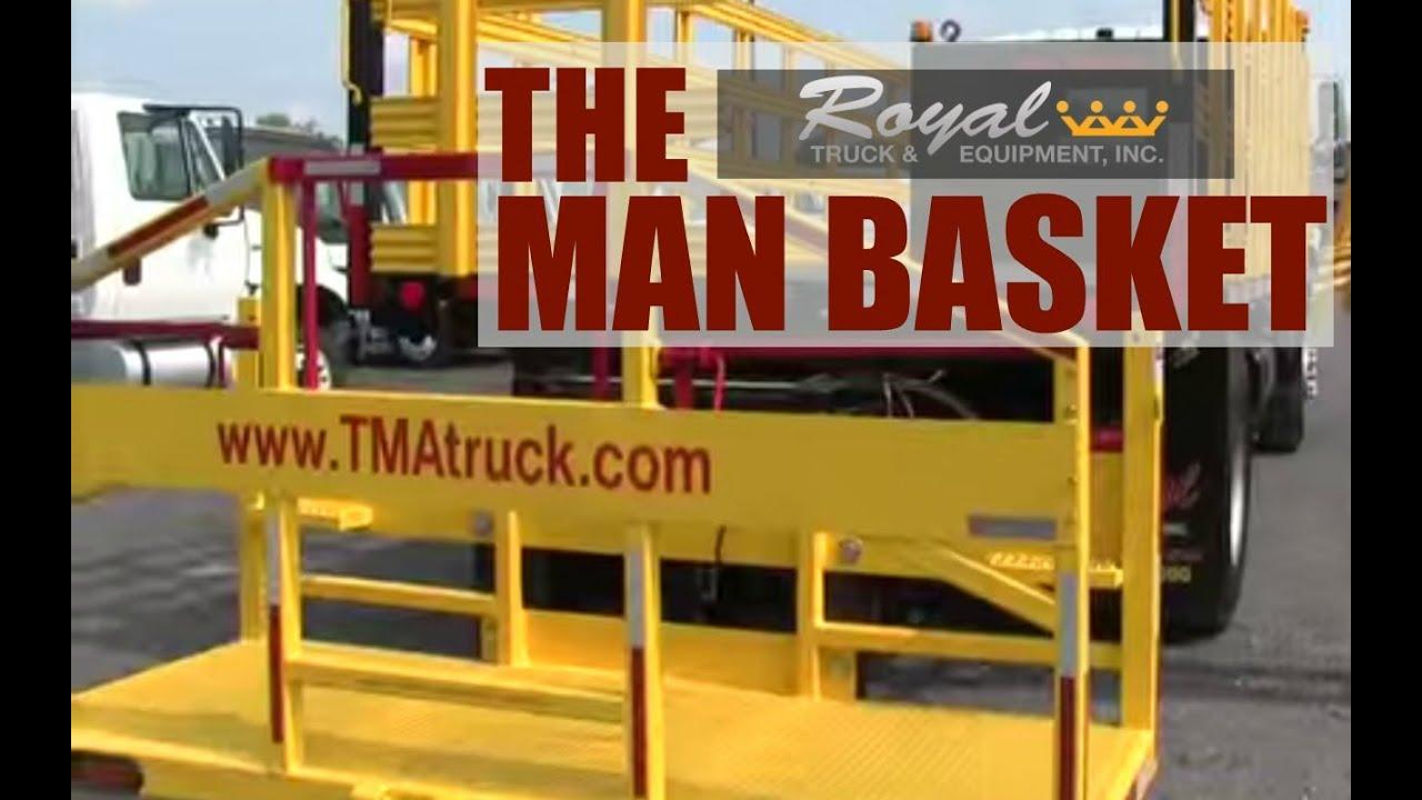 Crane Truck For Sale >> Man Basket - YouTube