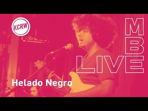 "Helado Negro performing ""Pais Nublado""  on KCRW"
