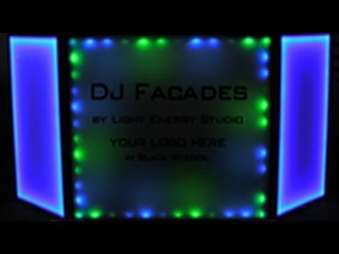 DJ Facade - Lighting Option 3