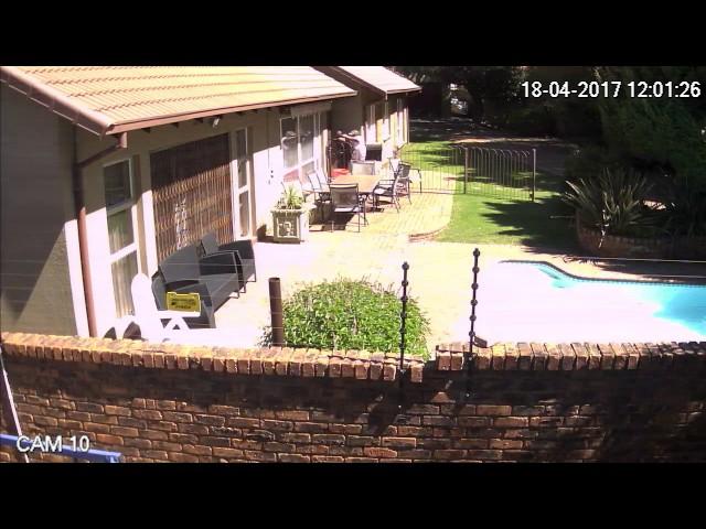 Van Riebeeck Park gardener scares off housebreakers