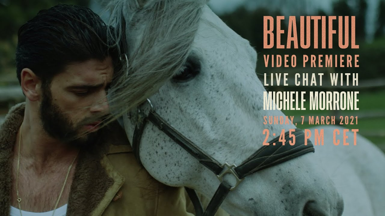 LiveChat with Michele Morrone + Video Premiere