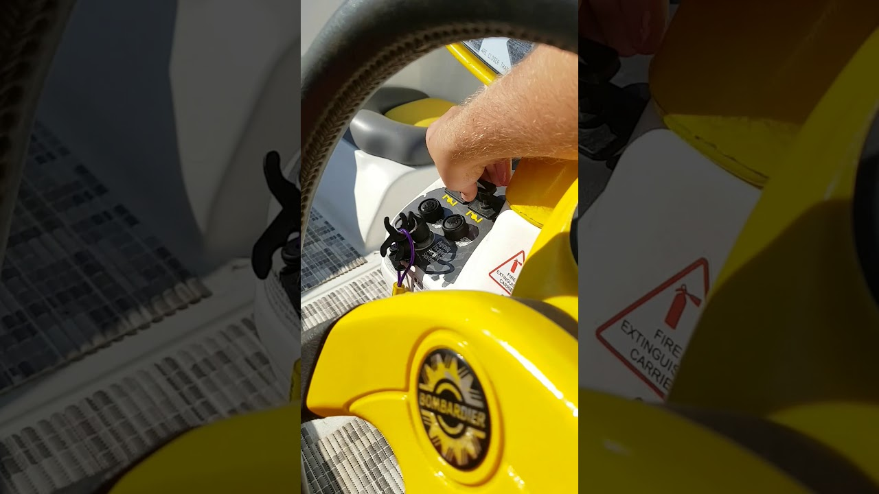 Seadoo Speedster 1997 2 X 720 Engines Start And Flush