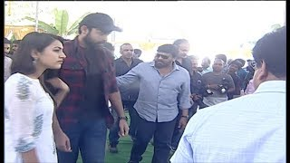 Chiranjeevi Dynamic Entry At Panja Vaisshnav Tej Debut Movie Launch || Tollywood Book